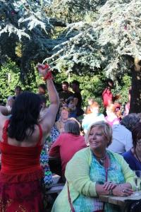 Buurtbewoonster Marina gaf in twee dansen het beste van zichzelf.
