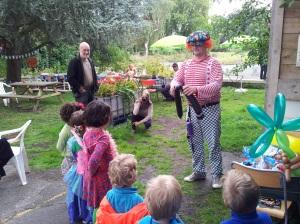 Ballon Piet en zijn trouwe publiek